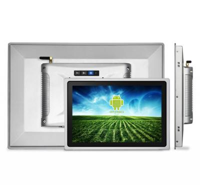 iimex group 15-6 ANDROID 7 tt touchpanel wandeinbau silber