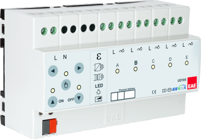 EAE KNX Dimmer 5 Kanal a 300W