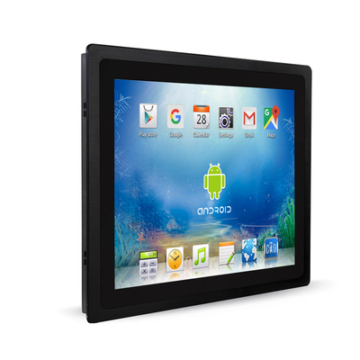 iimex group 12-1 ANDROID 7 tt touchpanel wandeinbau schwarz